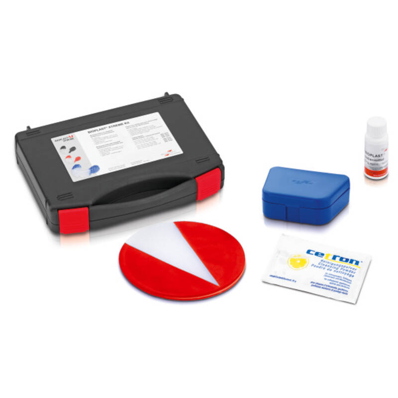 BIOPLAST® XTREME kit, red, pressure moulding technique, product image, catalogue