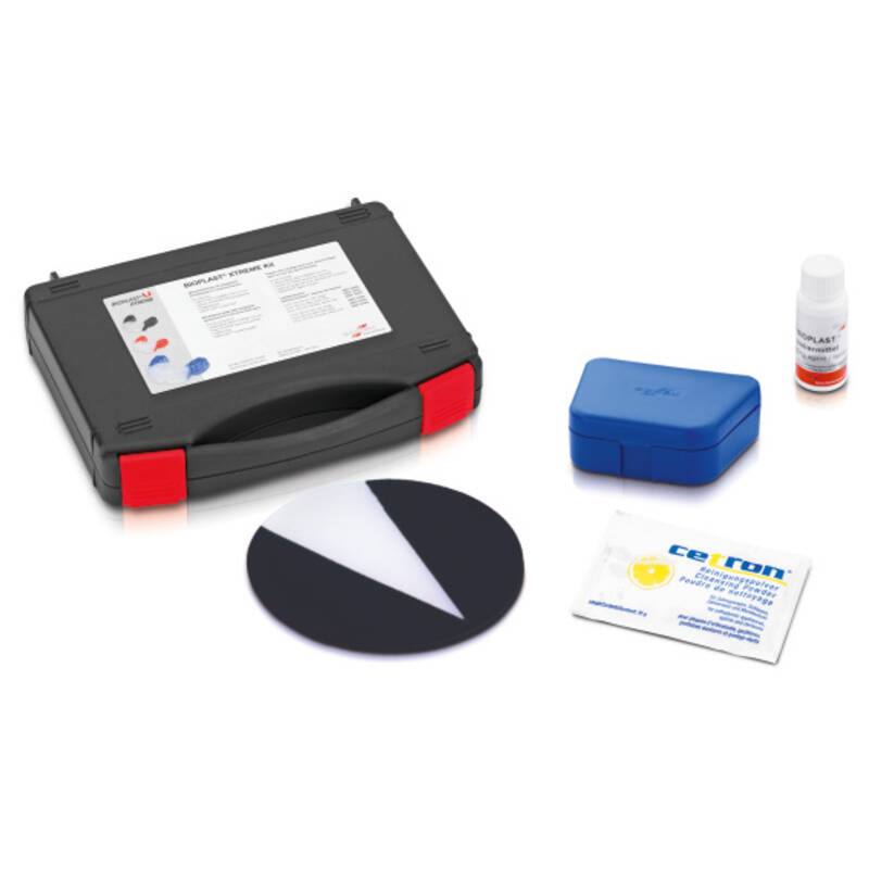 BIOPLAST® XTREME kit ,black, pressure moulding technique, product image, catalogue