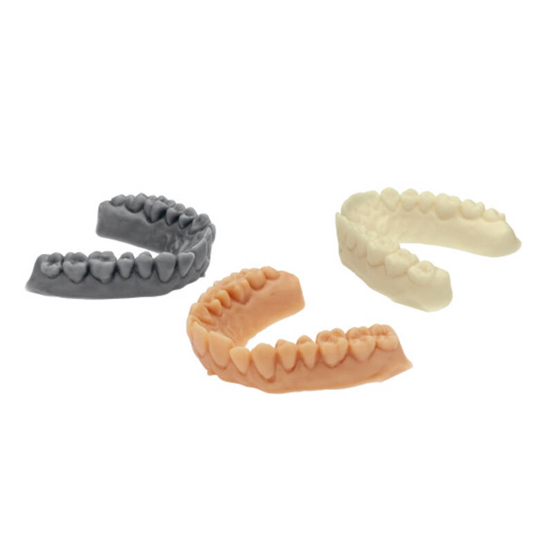 IMPRIMO® LC Model ivory / beige / grey, 3D printing, resin, digital orthodontics, application example